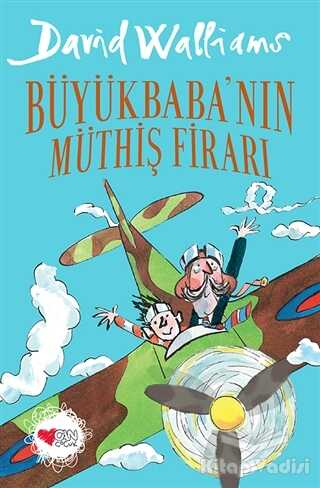 Can Çocuk Yayınları - Büyükbaba'nın Müthiş Firarı