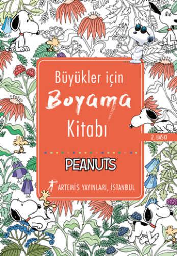 Artemis Yayınları - Büyükler İçin Boyama Kitabı