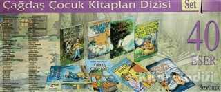 Özyürek Yayınları - Hikaye Kitapları - Çağdaş Çocuk Kitapları Dizisi 1 (40 Kitap Kutulu)