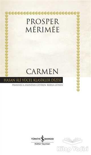 İş Bankası Kültür Yayınları - Carmen