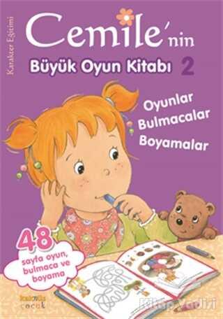 Kaknüs Yayınları - Cemile'nin Büyük Oyun Kitabı - 2