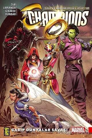 Gerekli Şeyler Yayıncılık - Champions 5: Garip Dünyalar Savaşı