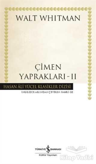 İş Bankası Kültür Yayınları - Çimen Yaprakları - 2