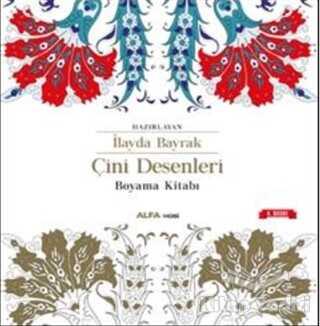 Alfa Yayınları - Çini Desenleri Boyama Kitabı