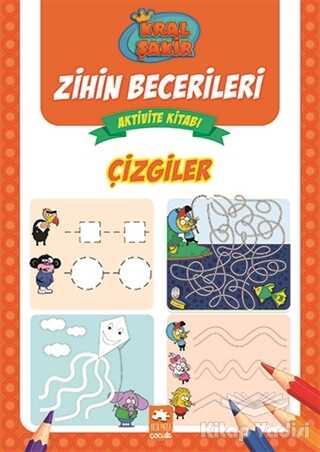 Eksik Parça Yayınları - Çizgiler - Kral Şakir Zihin Becerileri Aktivite Kitabı