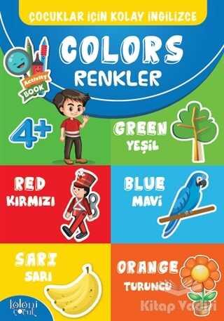 Koloni Çocuk - Çocuklar İçin Kolay İngilizce - Colors Renkler