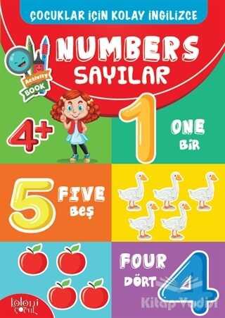 Koloni Çocuk - Çocuklar İçin Kolay İngilizce - Numbers Sayılar