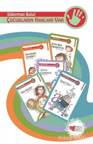 Can Çocuk Yayınları - Çocukların Hakları Var (5 Kitap Set)