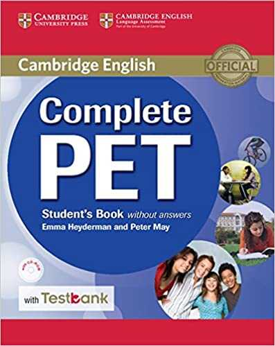 Cambridge University Press - Complete PET Student's Book without Answers with CD-ROM and Testbank