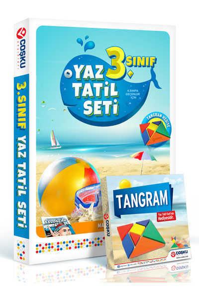Coşku Yayınları - 3. Sınıf Yaz Tatil Seti