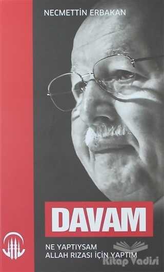 Milli Gazete Yayınları - Davam