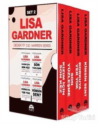 Martı Yayınları - Dedektif D.D. Warren Serisi Set 2 (4 Kitap Takım)