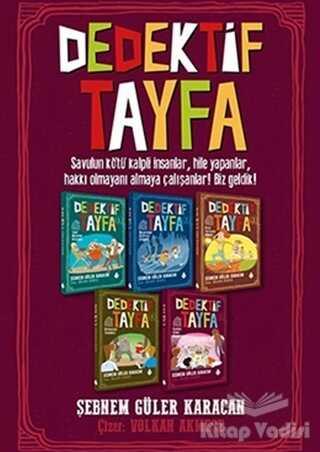 Uğurböceği Yayınları - Dedektif Tayfa Seti (5 Kitap Takım)