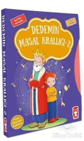Timaş Çocuk - Dedemin Masal Krallığı - 2 set (5 Kitap)