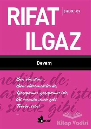 Çınar Yayınları - Devam - Şiirler 1953