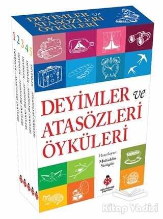 Uğurböceği Yayınları - Deyimler ve Atasözleri Öyküleri (5 Kitap Takım)