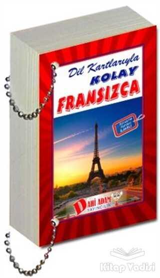 Dahi Adam Yayıncılık - Dil Kartlarıyla Kolay Fransızca