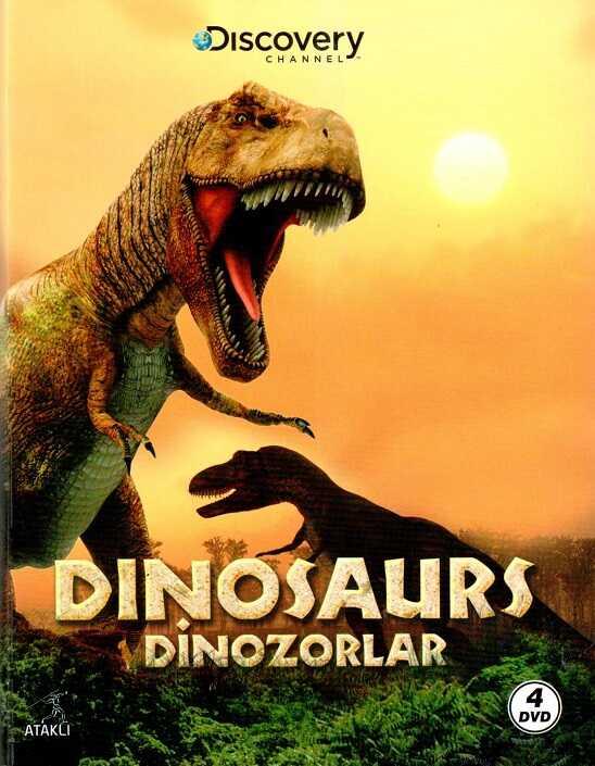 Ataklı - Discovery Channel - Dinozorlar ( 4 DVD )