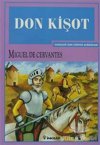 İnkılap Kitabevi - Gençlik Kitapları - Don Kişot