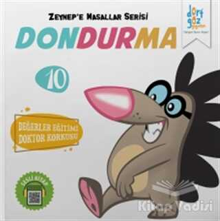 Dörtgöz Yayınları - Dondurma - Zeynep'e Masallar Serisi 10