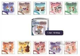 Hiç Yayınları - Dore Mimi - Müzikle Değerler Eğitimi Set 1 (10 Kitap Takım)