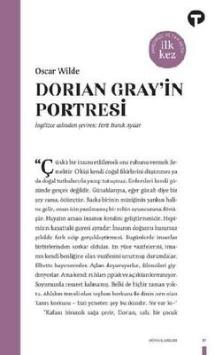 Turkuvaz Kitap - Dorian Gray'in Portresi