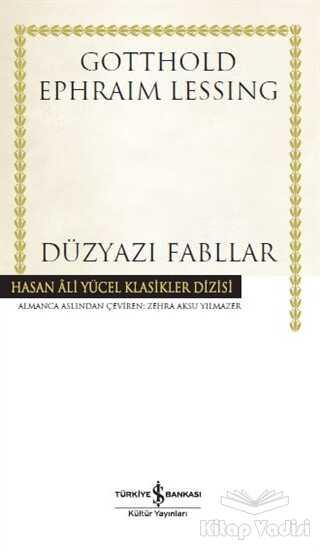 İş Bankası Kültür Yayınları - Düzyazı Fabllar (Ciltli)