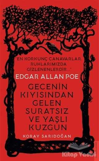 Destek Yayınları - Edgar Allan Poe - Gecenin Kıyısından Gelen Suratsız ve Yaşlı Kuzgun