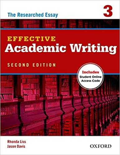 Oxford Unıversıty Press - Effective Academic Writing 2e Student Book 3
