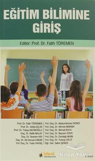 İdeal Kültür Yayıncılık Ders Kitapları - Eğitim Bilimine Giriş