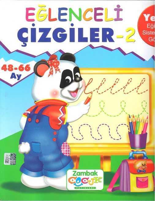 Zambak Yayınları - Eğlenceli Çizgiler-2