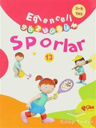 Çilek Kitaplar - Eğlenceli Sözlüğüm - Sporlar