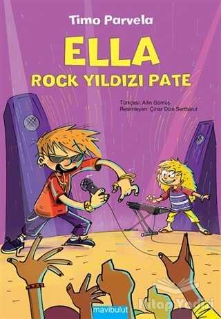 Mavibulut Yayınları - Ella - Rock Yıldızı Pate