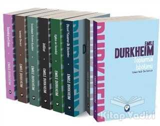 Cem Yayınevi - Emile Durkheim Seti (8 Kitap Takım)
