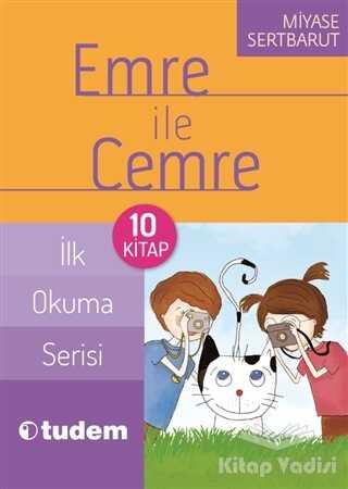 Tudem Yayınları - Emre ile Cemre - İlk Okuma Serisi (10 Kitap Takım)