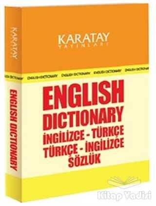 Karatay Yayınları - English Dictionary İngilizce-Türkçe / Türkçe-İngilizce Sözlük