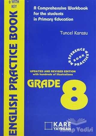 Kare Yayınları - Okuma Kitapları - English Practice Book Grade 8