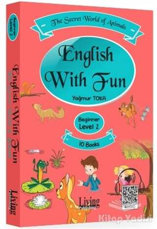 Living English Dictionary - English With Fun Level 2 - 10 Kitap