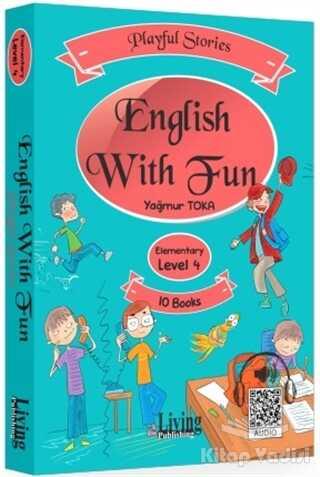 Living English Dictionary - English With Fun Level 4 - 10 Kitap