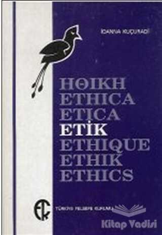 Türkiye Felsefe Kurumu - Etik