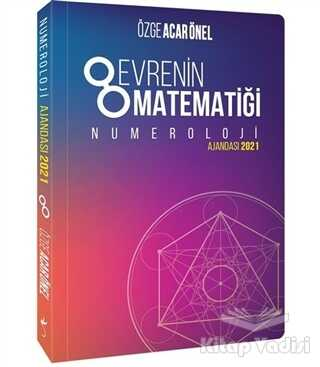 İndigo Kitap - Evrenin Matematiği Numeroloji Ajandası 2021