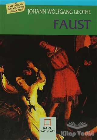 Kare Yayınları - Okuma Kitapları - Faust