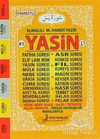 Fetih Yayınları - Fihristli 41 Yasin