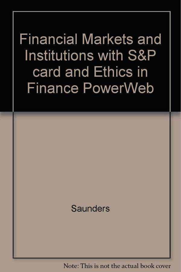 - Financial Markets And Institutions 3E Mc Grav Hıll