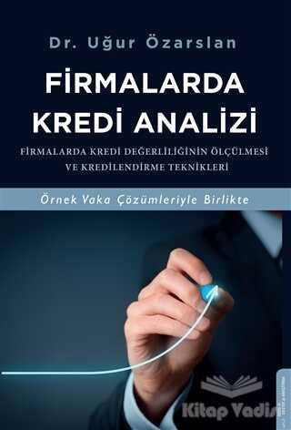 Destek Yayınları - Firmalarda Kredi Analizi