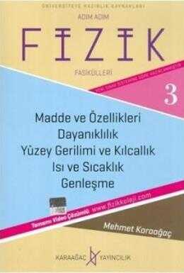 Karaağaç Yayınları - Fizik Fasikülleri 3