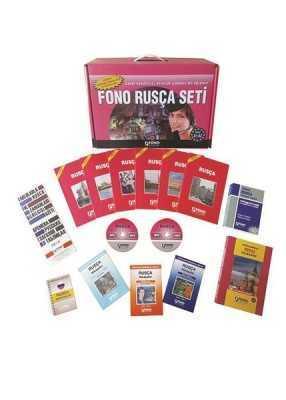 FONO Rusça Set (14 kitap + 6 CD)