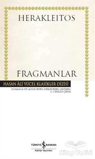 İş Bankası Kültür Yayınları - Fragmanlar (Ciltli)