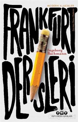 Yapı Kredi Yayınları - Frankfurt Dersleri