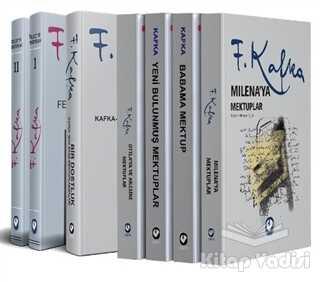 Cem Yayınevi - Franz Kafka Mektuplar (7 Kitap Takım)